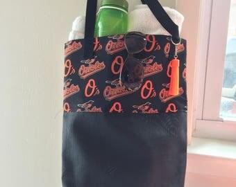 Oriole beach bag