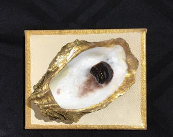 Oyster on Canvas