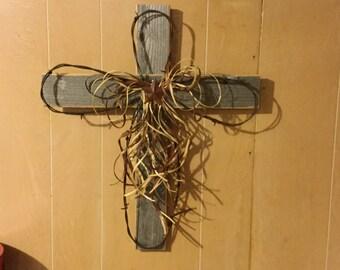 Old Barn Wood Cross