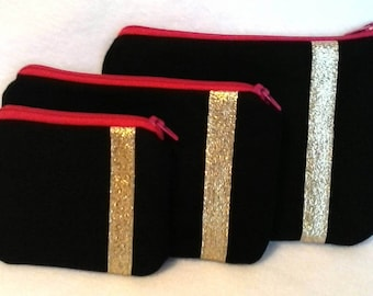 Ready to ship Wallet and Coin Purse set of 3