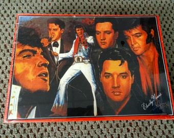 Sealed Elvis Presley Jigsaw Puzzle 1000 pieces. Elvisly Yours UK Elvis Jigsaw. Elvis Presley Collectable. Vintage Elvis Presley