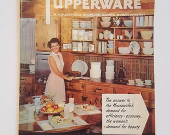 1957 Vintage Tupperware Catalog