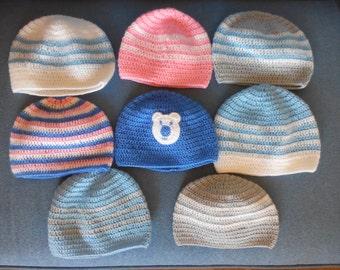children baby knitted cap