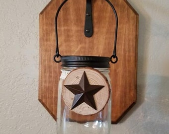 Mason Jar Lanterns-Set of 2