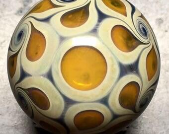 "Borosilicate Glass Marble 1.25"""