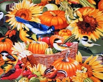 Thanksgiving table runner   Holiday table runner  Pumpkin table runner  Fall table runner