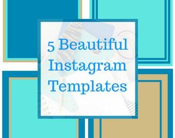 5 Instagram Templates