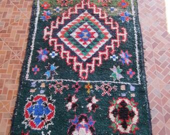 rug rag rug moroccan rug handmade rug area rug colorful