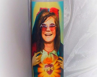 Saint Janis Joplin prayer candle