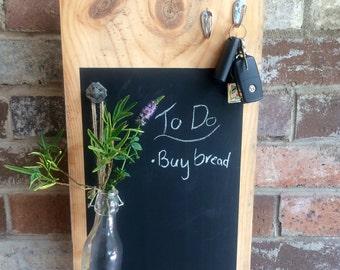 Chalkboard, Note Board,  Reclaimed Wood, Rustic Decor Australia