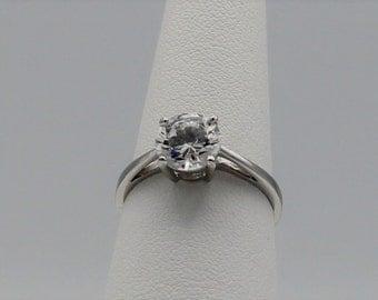 Vintage Avon Solitaire Ring