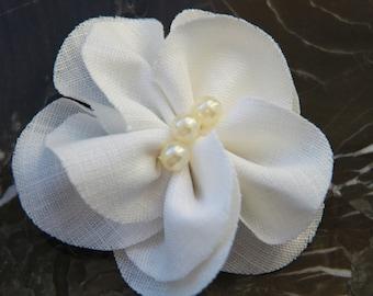 Wedding Hair Flower/ Bridal Hair Flower/ Wedding Hair Piece/ Bridal Hair Piece/ Bridal Headpiece/ Bridal Hair Flower Camellia