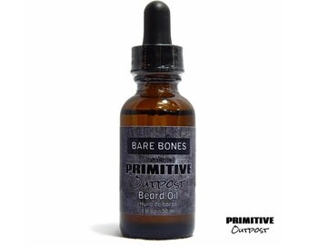 Bare Bones Unscented Beard Oil by Primitive Outpost