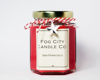 SALE! - Cranberry Marmalade - Scented Soy Candle - Gifts for Her, Gifts for Him, Home Decor, Birthday Gift - Best Scented Candles From SF!