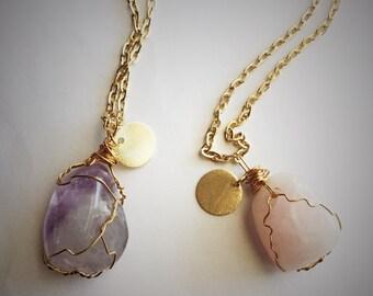 Golden Dragon Egg Necklaces