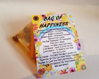 Bag of Happiness 2017- Novelty gift for a friend or loved one for any occasion!