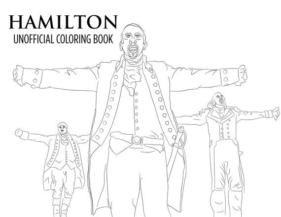 hamilton coloring pages hamilton coloring book printable download unofficial broadway