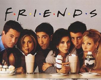 Friends  TV Show poster Milkshake  Tv Series poster 11 by 14