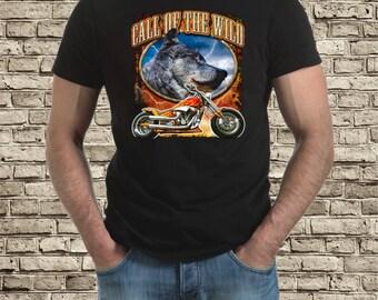 Call of the wild bike t-shirt