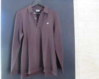 Polo - Long Sleeves Brown - Lacoste - T 5