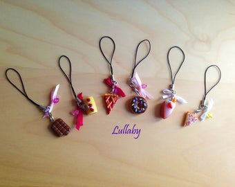 Cell phone charms-candy Sweets phone charms