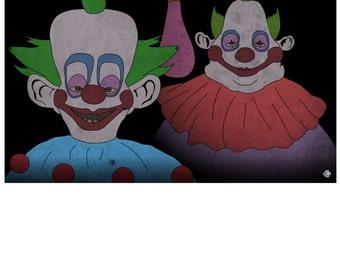 Killer Klowns from Outer Space 1 (17in x 11in)