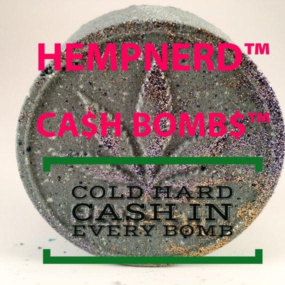 Cash Bombs - Money Filled Bath Bombs