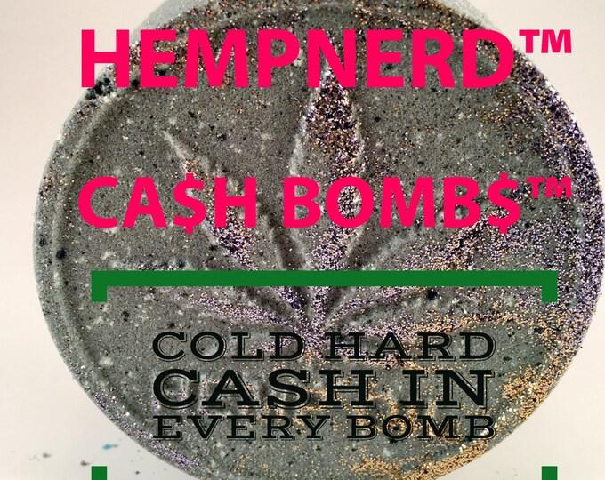 CASH BOMBS™ - Money Filled Bath Bombs by HempNerd™