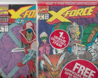 X-FORCE #1-Bagged,unopened,#2  [X-Men]