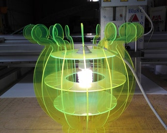 Trendy Plexiglass Chandelier -hanging lamp- pendant lamp-Lampadario in plexiglass