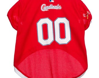 c3c39ea29 ... St Louis Cardinals MLB Licensed Pet Jersey 4 sizes ...