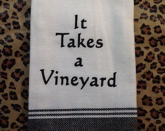 Funny Kitchen or Tea Towel - Perfect Gift for Friend, Hostess or Housewarming