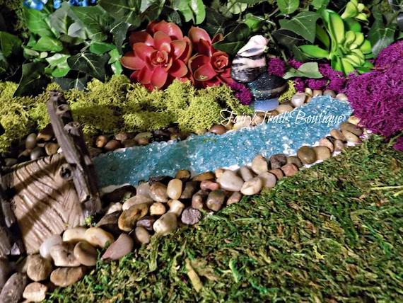 Diy Fairy Garden River Gnome Garden Terrarium Planter Kit