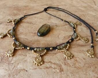 Tribal Labrador Necklace