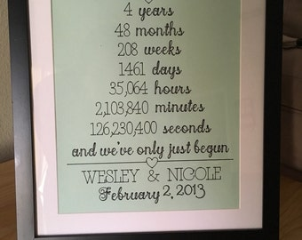 Marriage Anniversary Year Keepsake