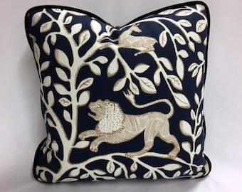 "Lion Pillow 18"" x 18"""