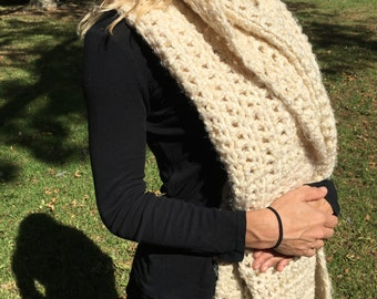 Hand made crochet wrap
