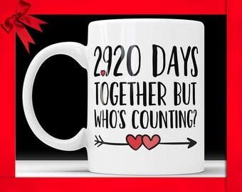 8th Anniversary Coffee Mug