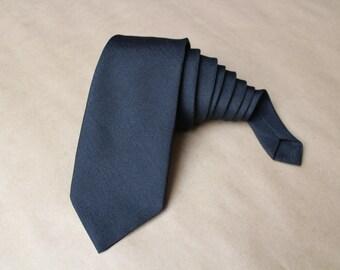 Vintage Necktie.Black tie.Wedding tie.Vintage mens tie.Mens gift.Vintage men's tie.Men's neck tie.100% polyester.Canda tie.Made in UK.