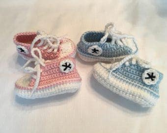 Baby Converse Style Sneakers