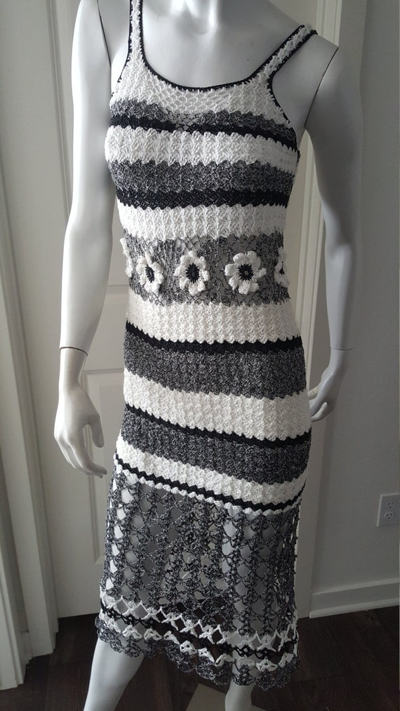 great knit bikini dress Crochet Bae on Etsy