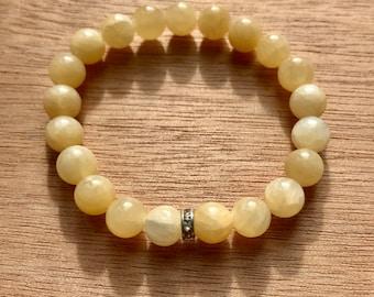 Calcite Crystal Bracelet