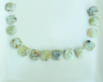 Prehnite Gemstone Beads