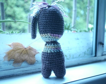 Cotton Crochet Doll - Handmade - One of a Kind- Amigurumi