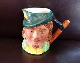 Small Sandland character Robin Hood Toby jug