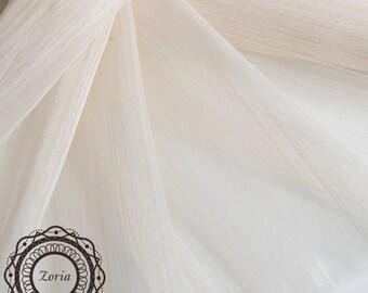 Natural Silk Banana Fabric Sinamay Millinery Fabrics  per meter| PAS001-N