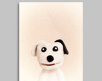 PEEKABOO DOG download for instant digital printing