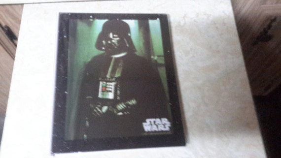 star wars Darth Vader school binder 1977 made by mead mint condition