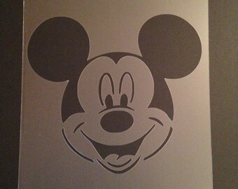 Airbrushed minnie etsy for Mickey mouse vampire pumpkin template