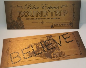 """Shop """"polar express"""" in Paper & Party Supplies"""